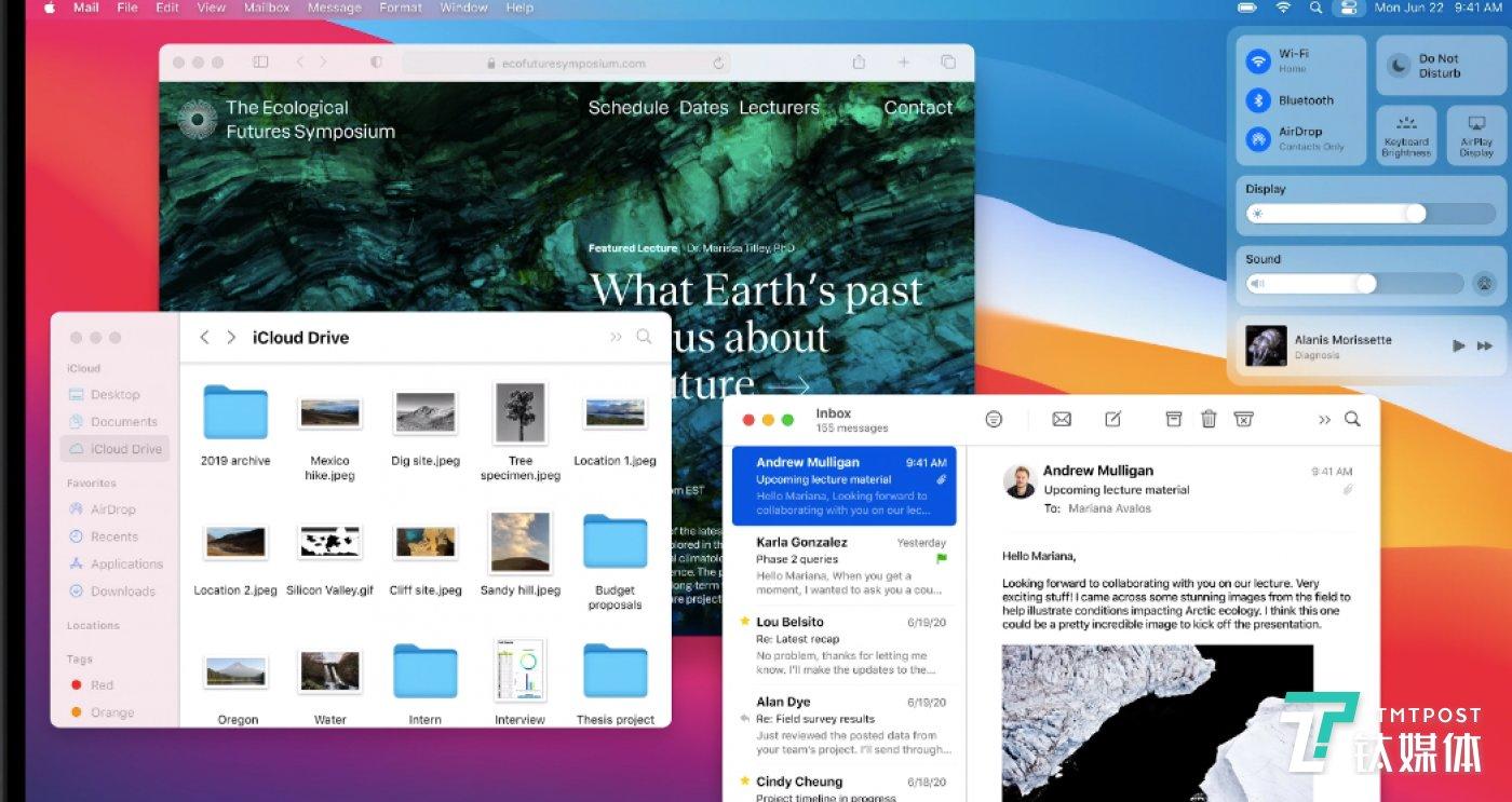 桌面平台移动化,从而统一整体的使用体验