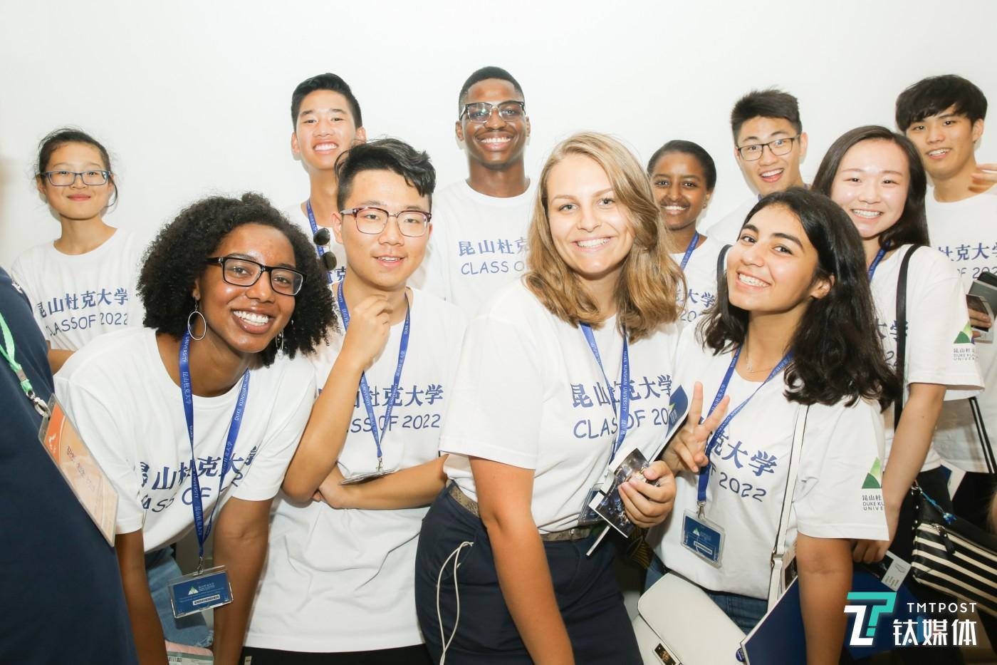 昆山杜克大学迎来第一批来自全球的本科生