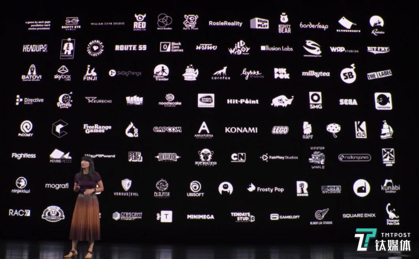 Arcade 合作的游戏发行商