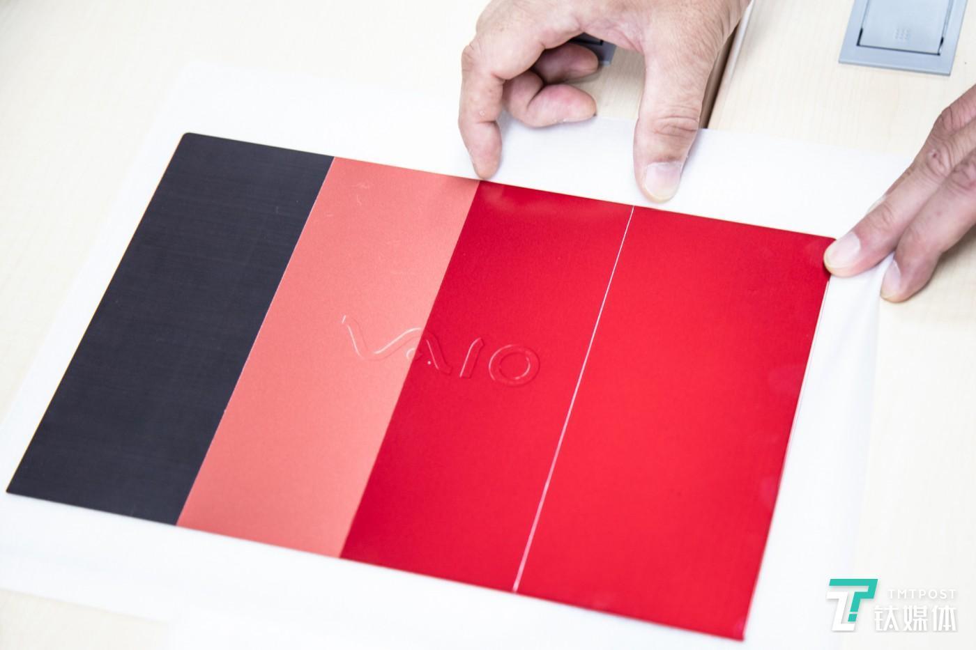 4层色彩涂层处理