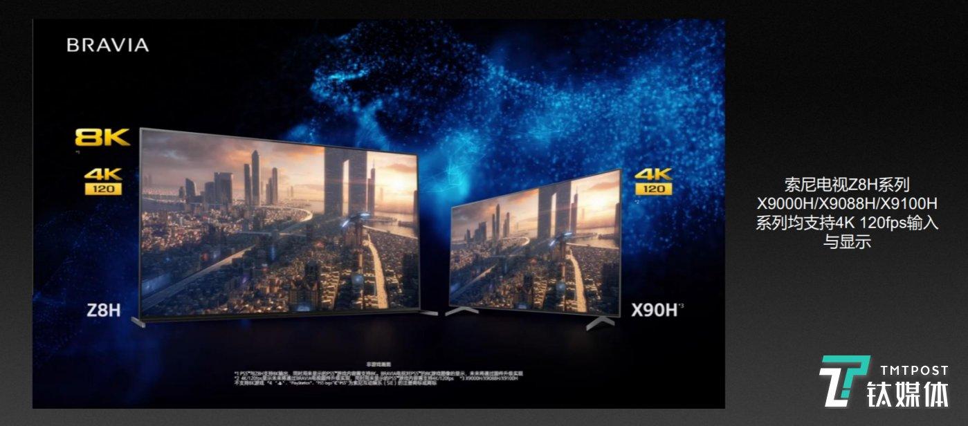 目前对高帧率支持的电视产品越来越多
