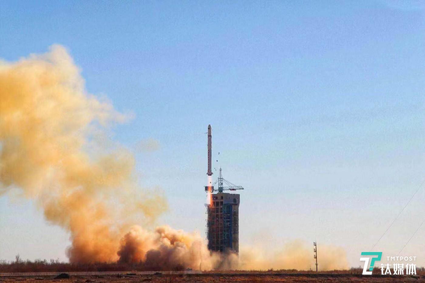 火箭发射现场,图片来源@李非凡