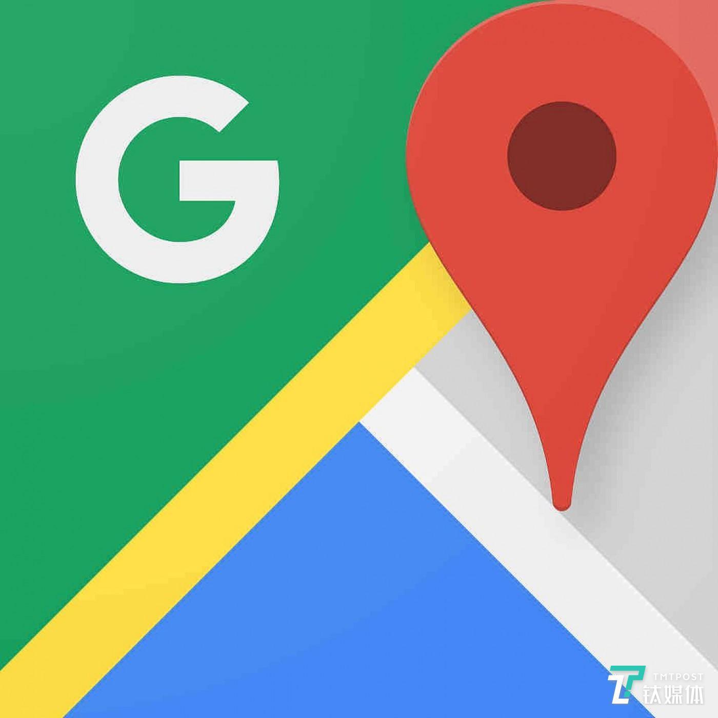 谷歌地图(来源:站酷)