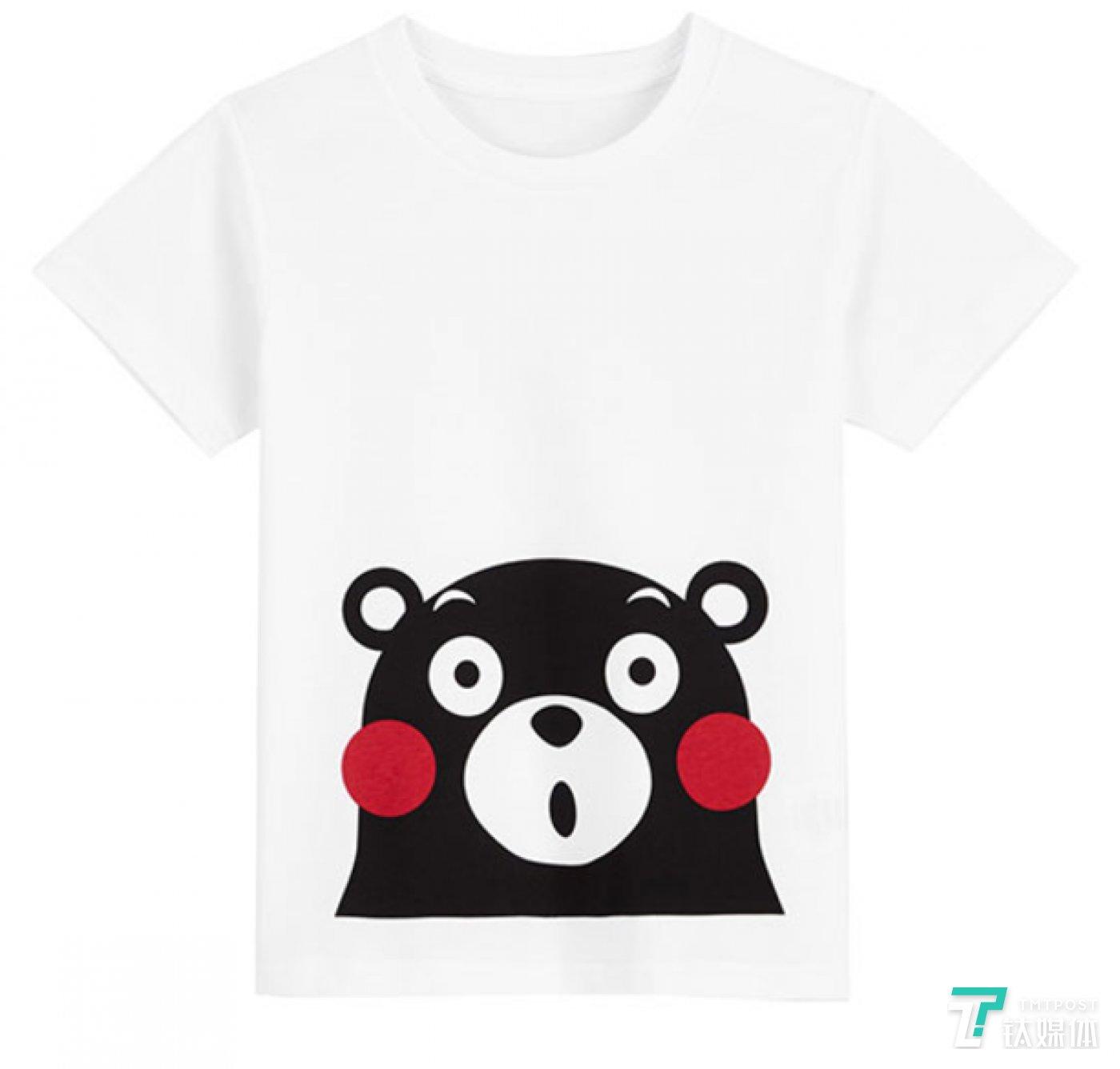 凡客熊本熊系列 T恤