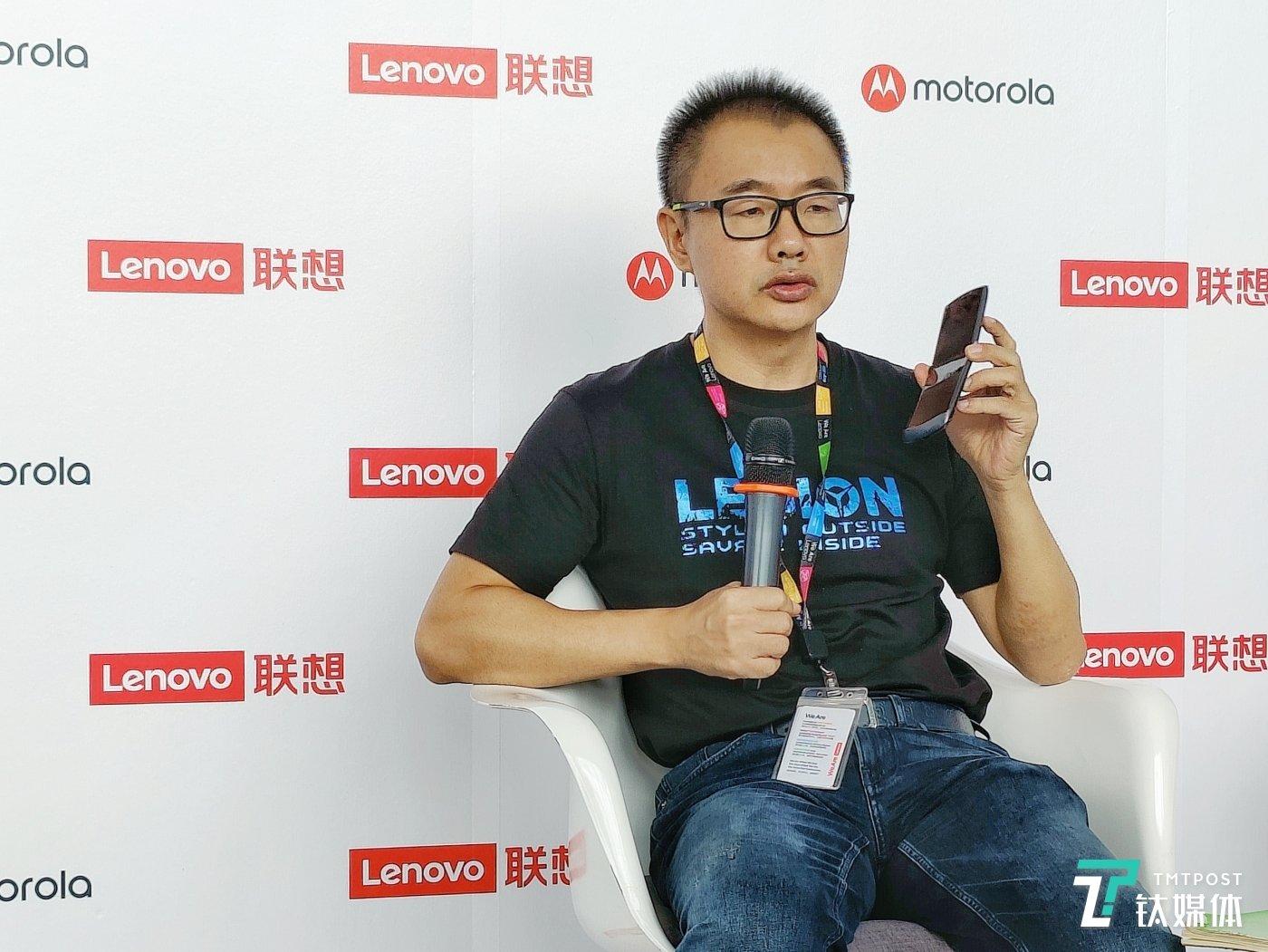 联想中国区手机业务部总经理 陈劲