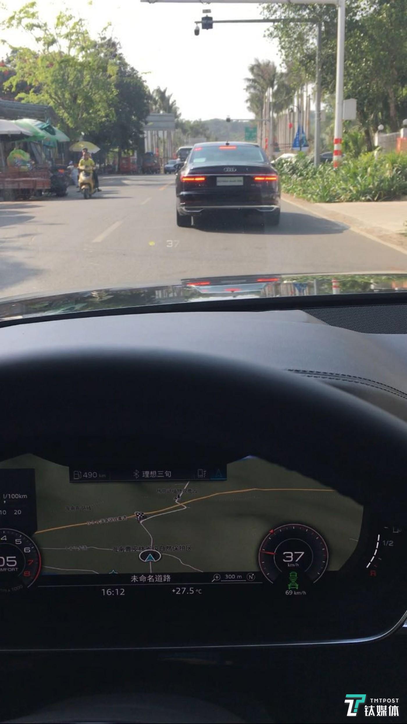 城区道路下的ACC全速自适应巡航