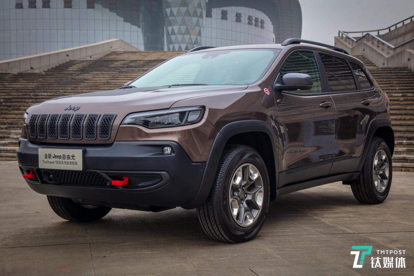 Jeep新自由光Trailhawk四驱高性能旗舰