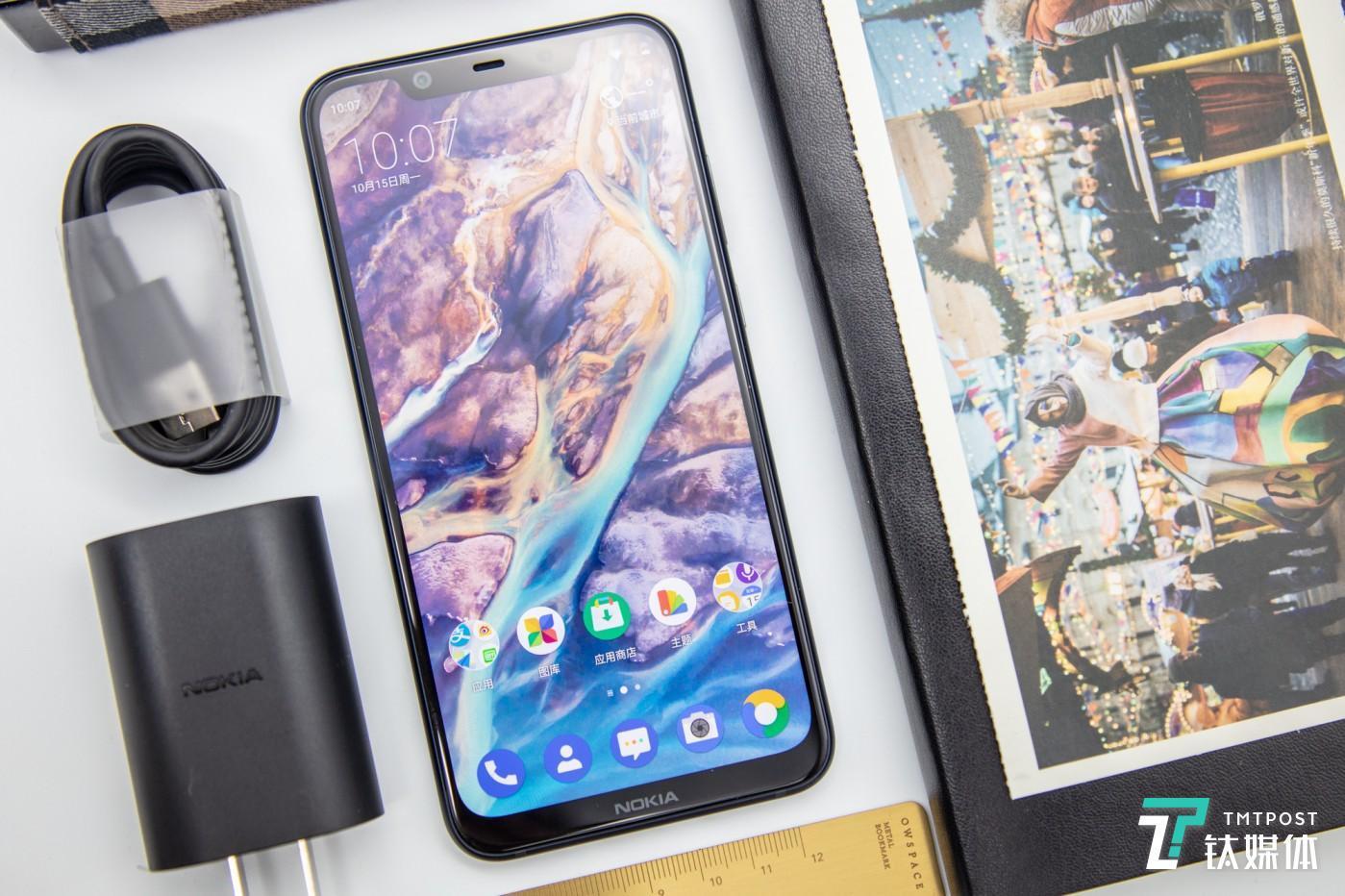 诺基亚X7智能手机