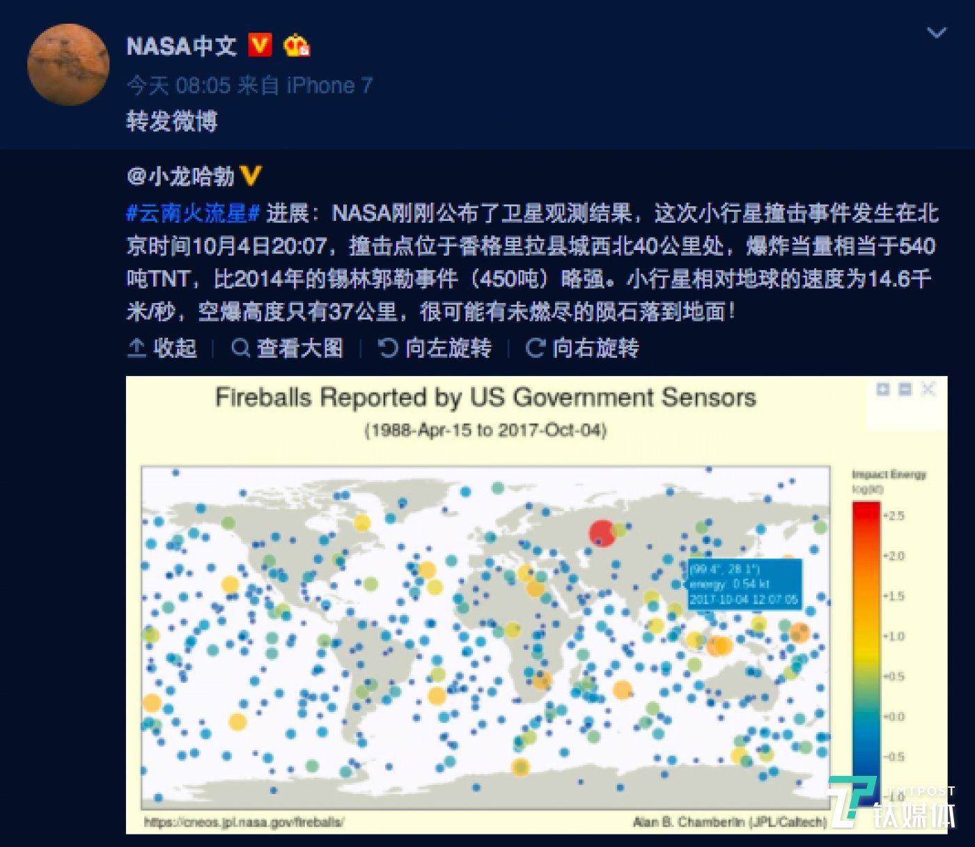图片来源NASA中文