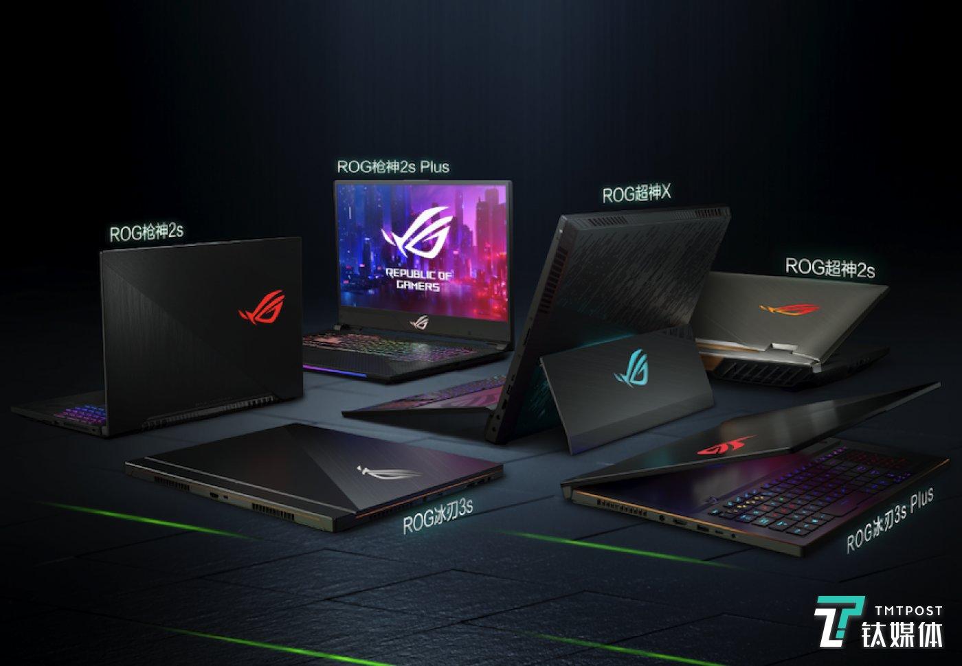 ROG游戏笔记本电脑全面升级GeForce RTX显卡