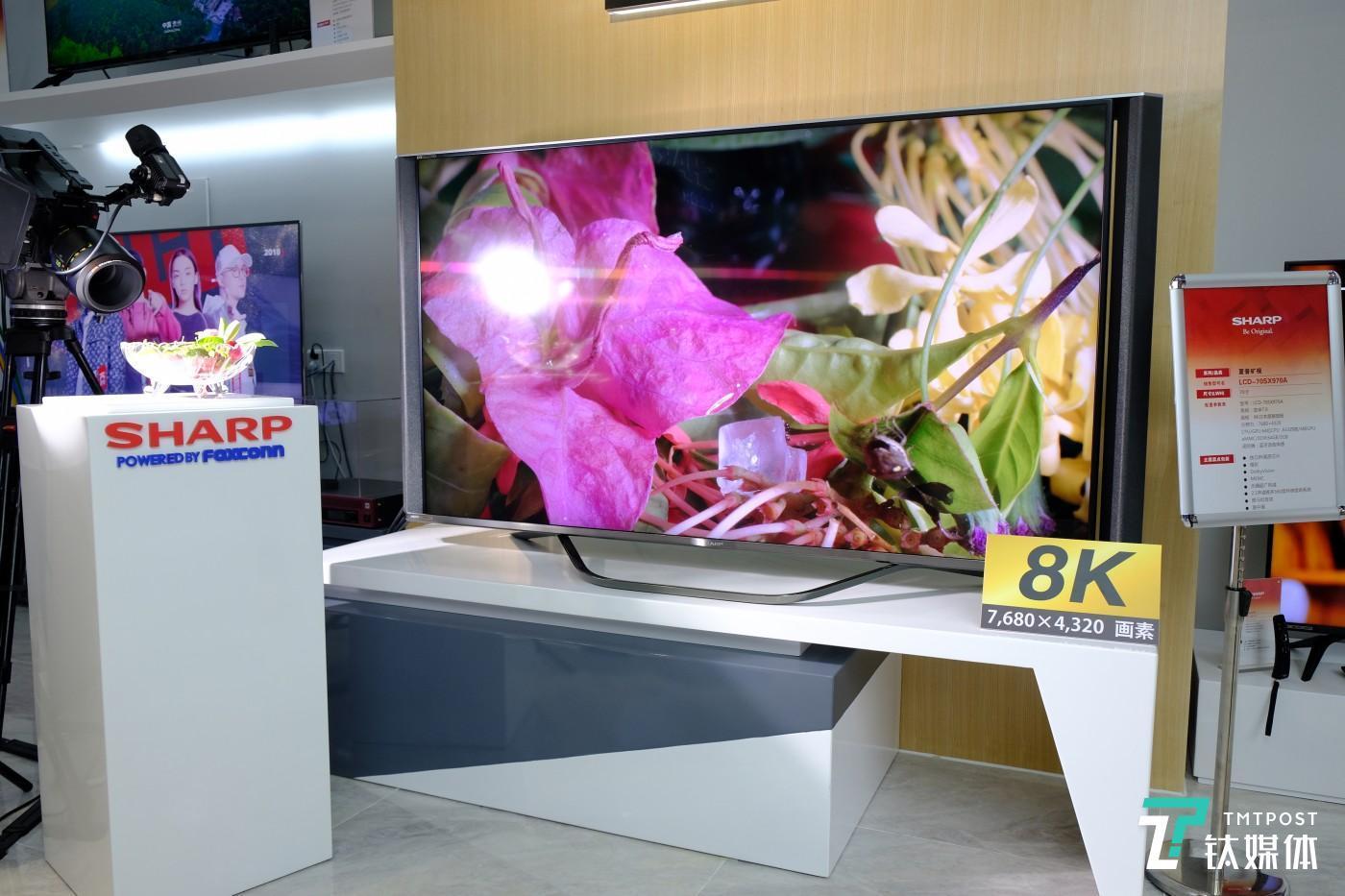 旷视系列产品-8K 分辨率电视