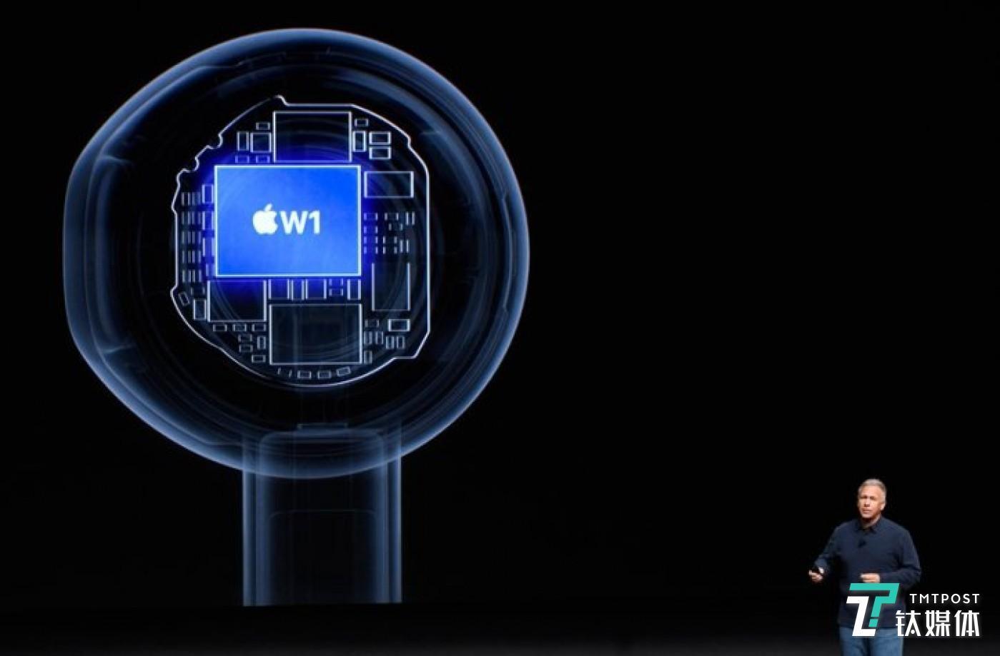 苹果 W1 芯片