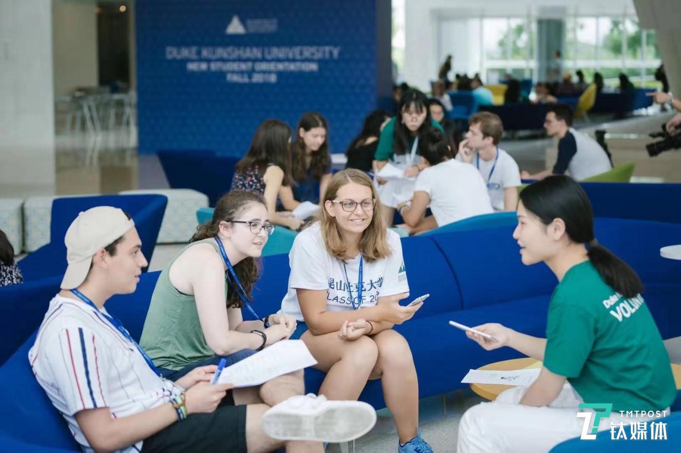 昆山杜克大学的独特位置,吸引了来自全球的学生