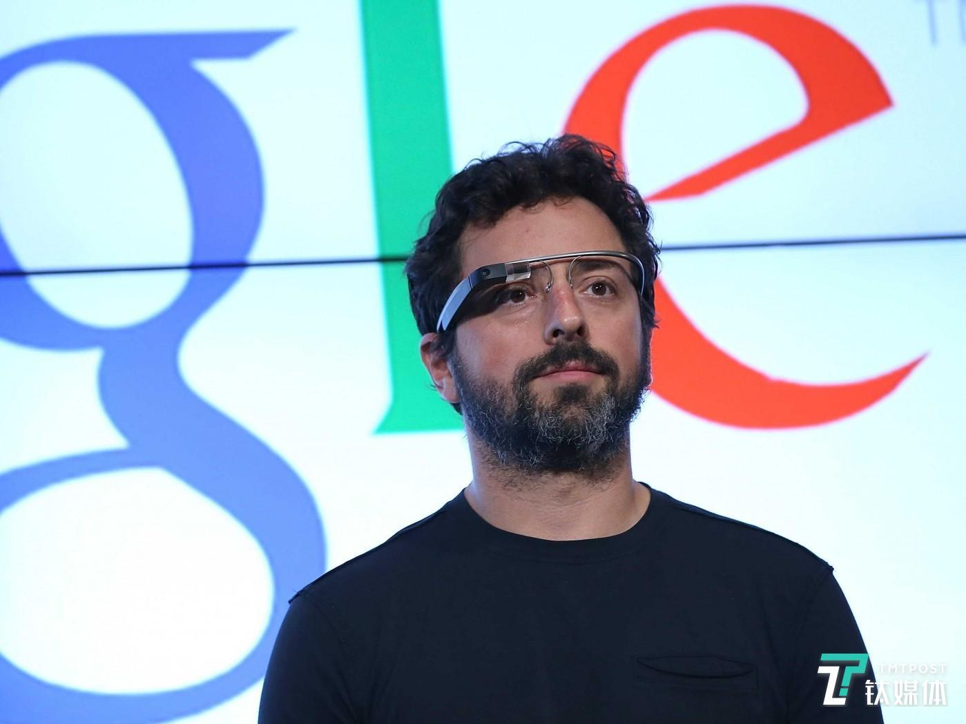 时任Google 公司CEO 谢尔盖·布林 Justin Sullivan/Getty Images