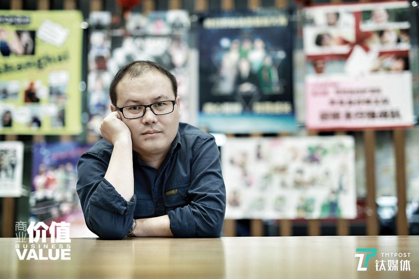 阿里影业集团副总裁杨磊