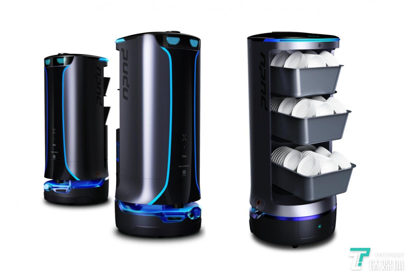 普渡科技-好啦回盘机器人