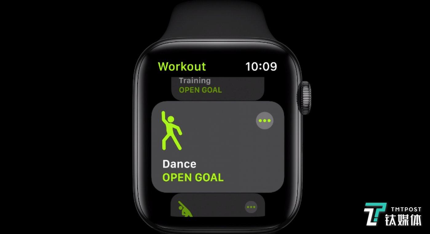 跳舞也能运动监测