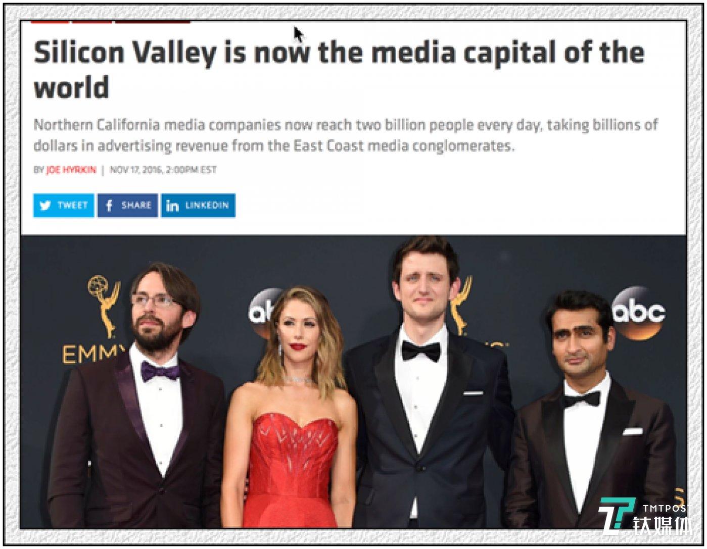 硅谷著名的新媒体网站Recode宣称硅谷已经取代纽约成为世界媒体的首都。这个说法,你认吗?至少,硅谷每天都在从纽约媒体手中抢劫广告,你能否认吗?