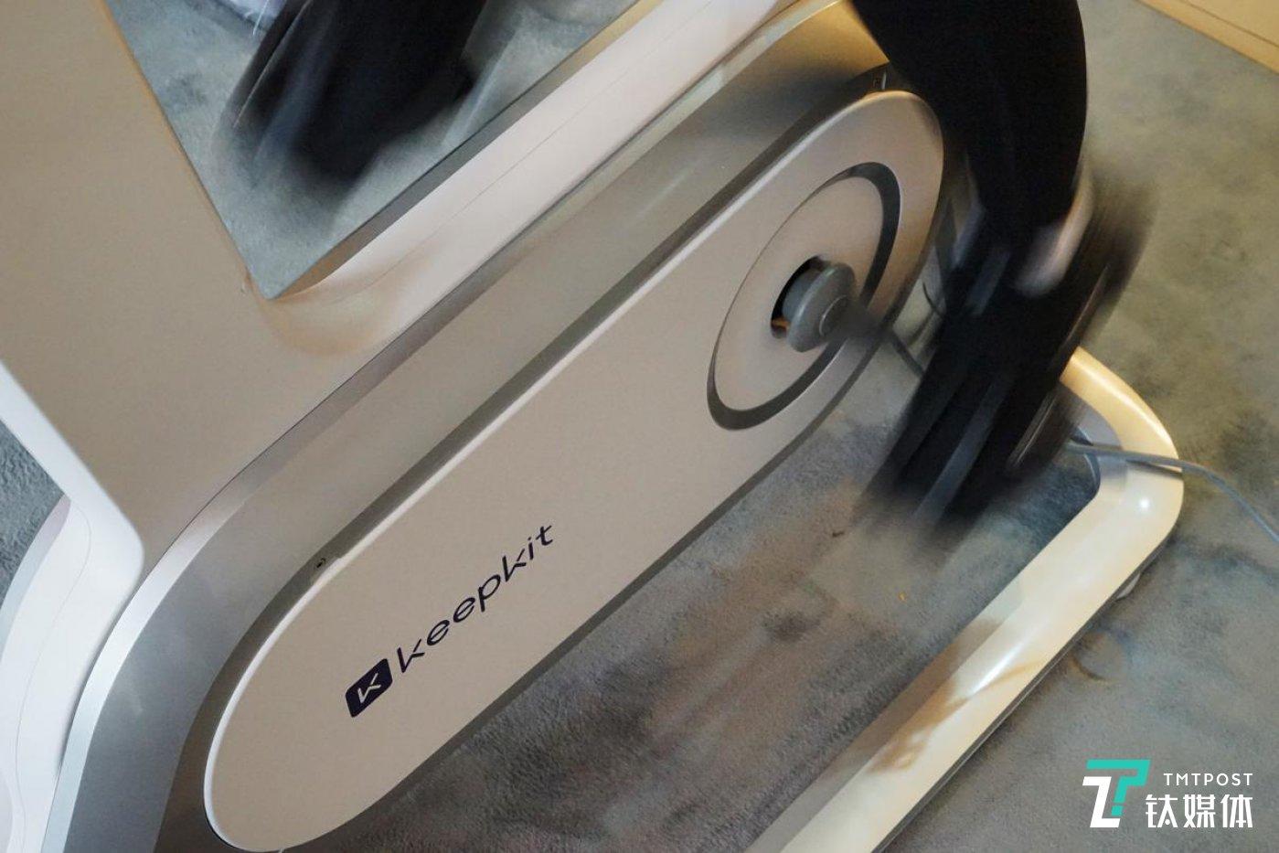 Keep智能动感单车C1支持36挡电磁智能骑行阻力调节