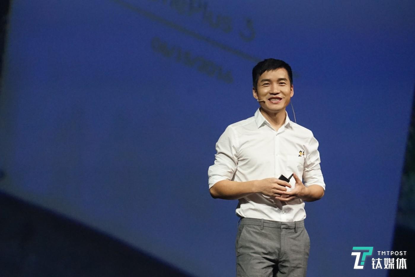 一加手机CEO刘作虎
