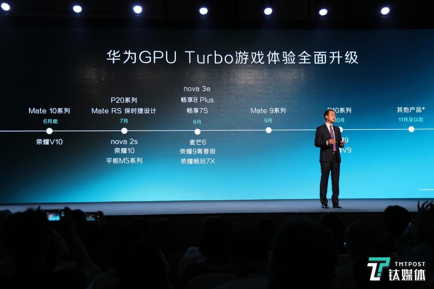 未来GPU Turbo技术将搭载到华为更多手机中