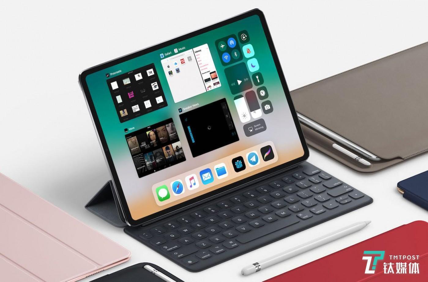 无刘海的 iPad Pro 了解一下