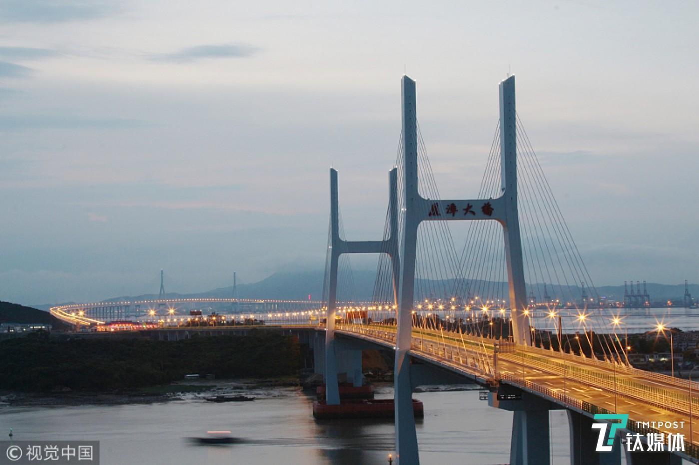 漳大桥(图片来源:视觉中国)