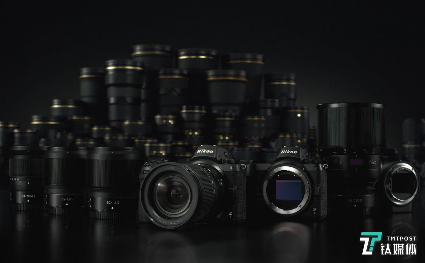 尼康Z7/Z6全画幅微单相机