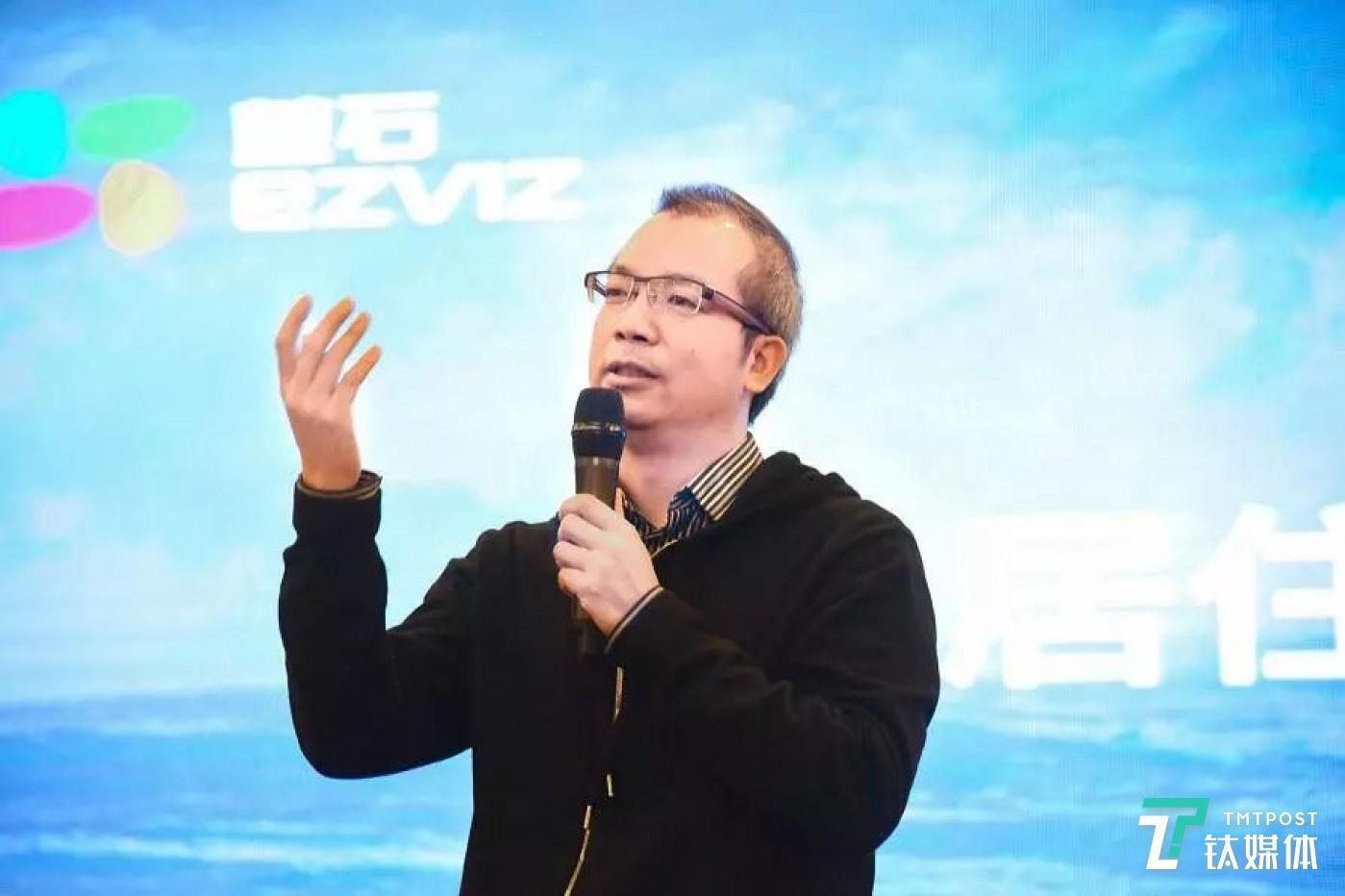 萤石科技 CEO 蒋海青