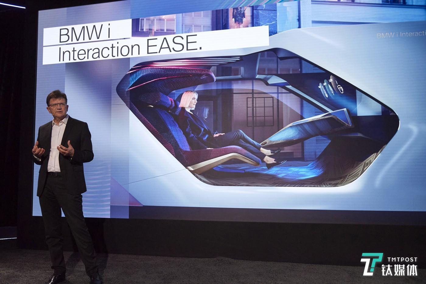 Vision BMW i Interaction EASE