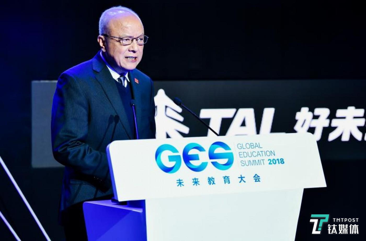 中国发展研究基金会副理事长兼秘书长卢迈