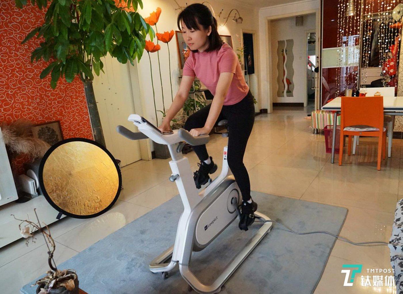 Keep动感单车课程的多样化,可以满足用户有针对性的高效能锻炼