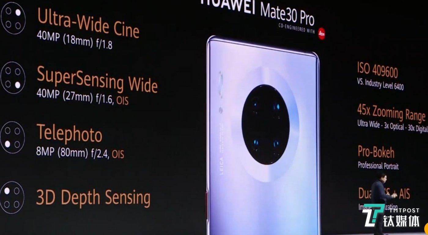 Mate30 Pro摄像头