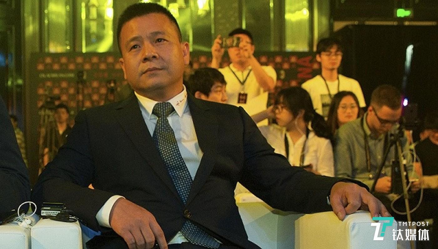 李勇鸿出席活动。图片来源:视觉中国
