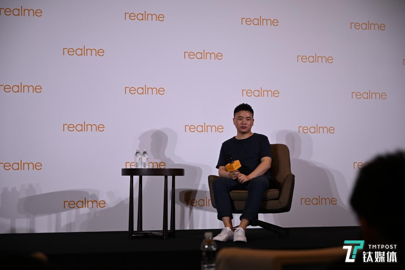 realme 产品总监王伟