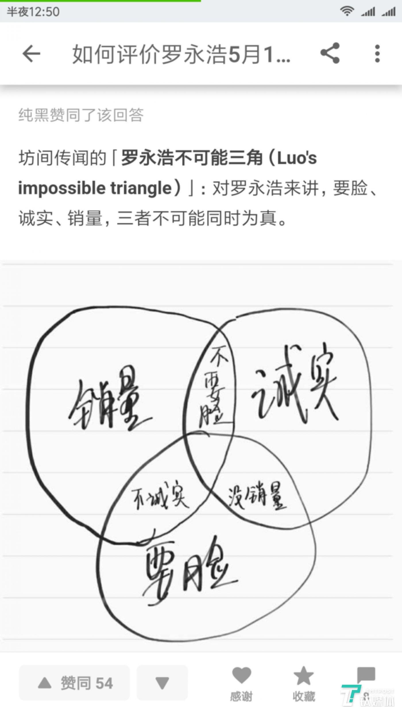 """罗永浩""""不可能三角"""""""
