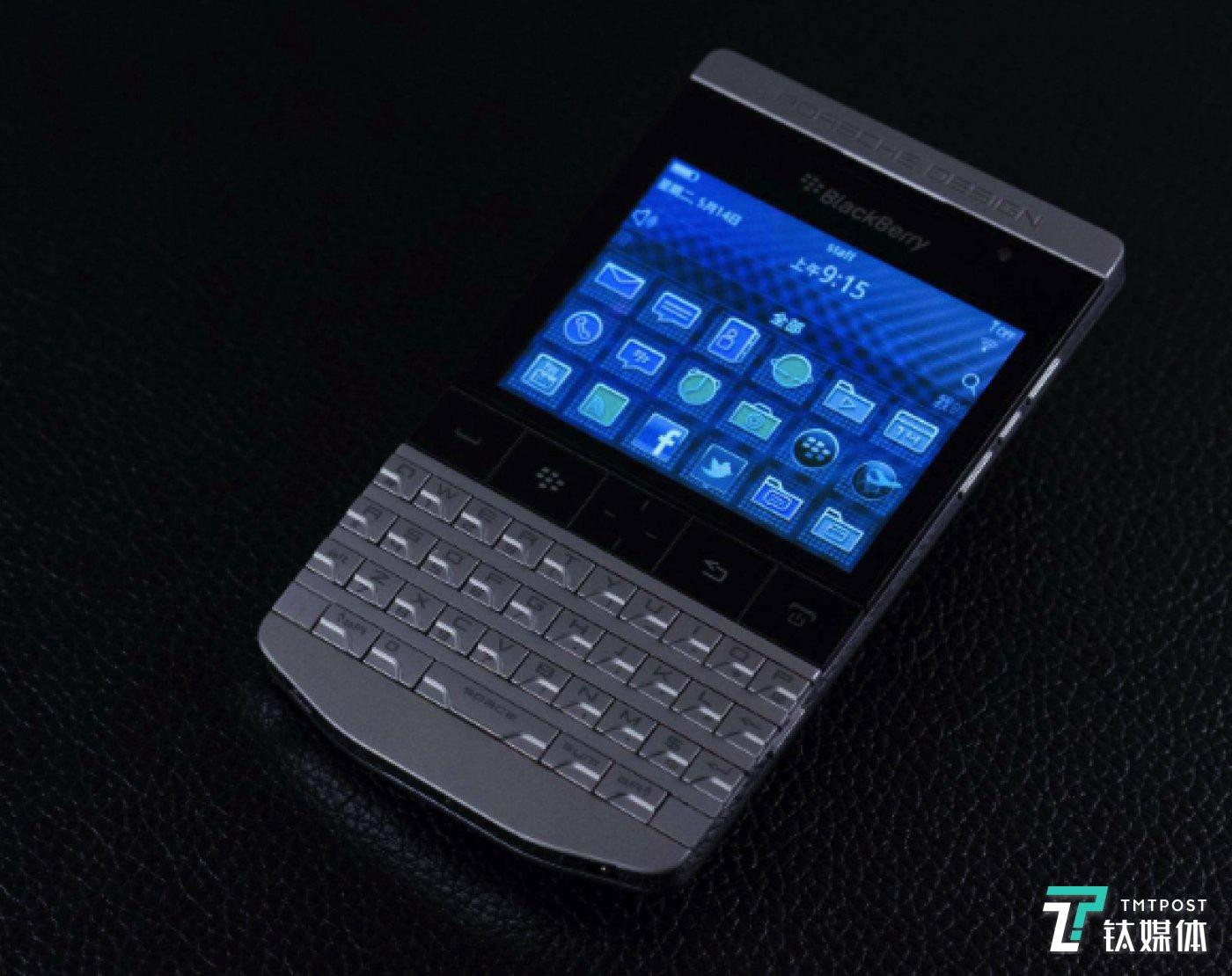 BlackBerry P9981