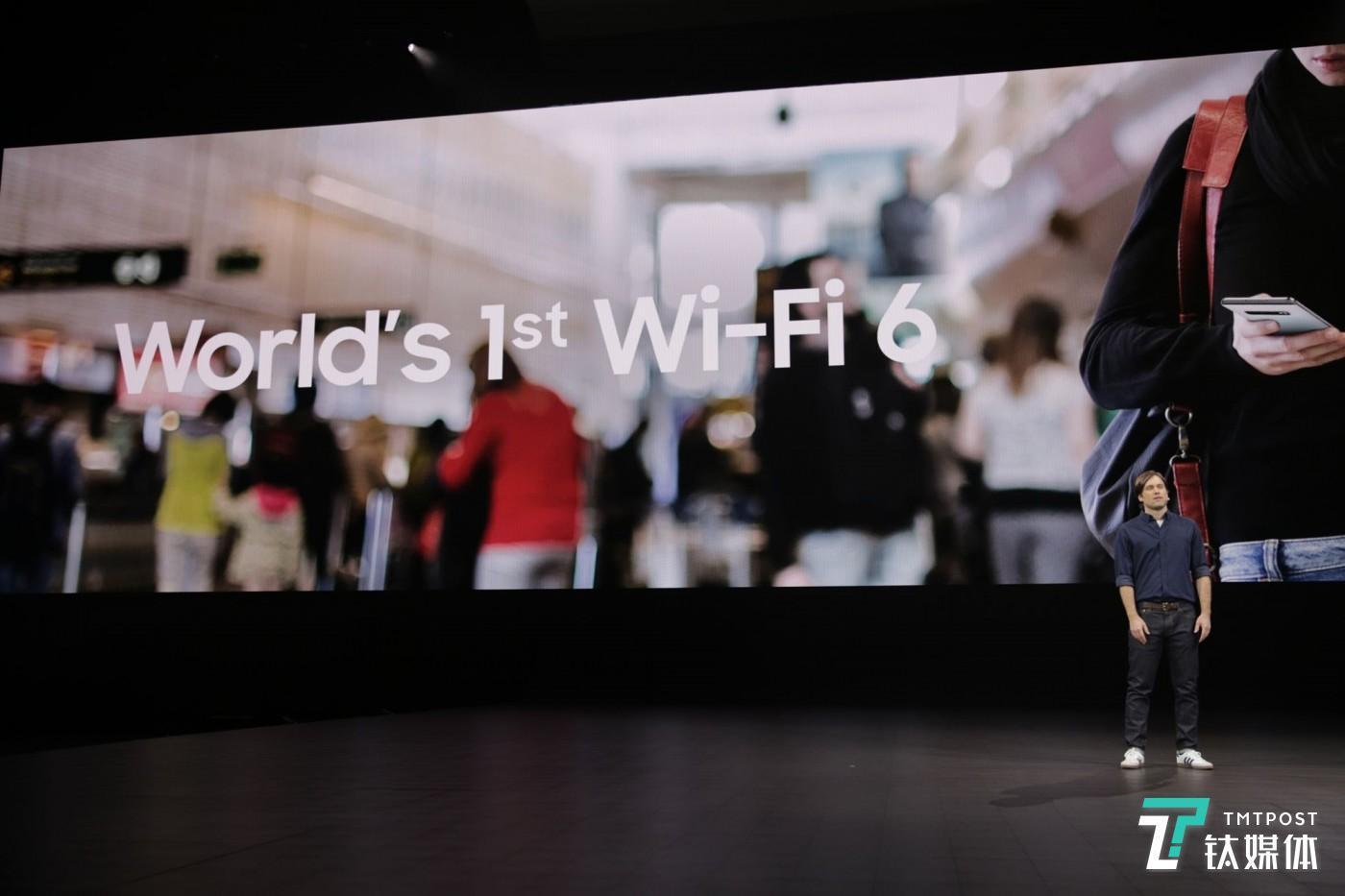 Galaxy S10 系列:更快的 WiFi6