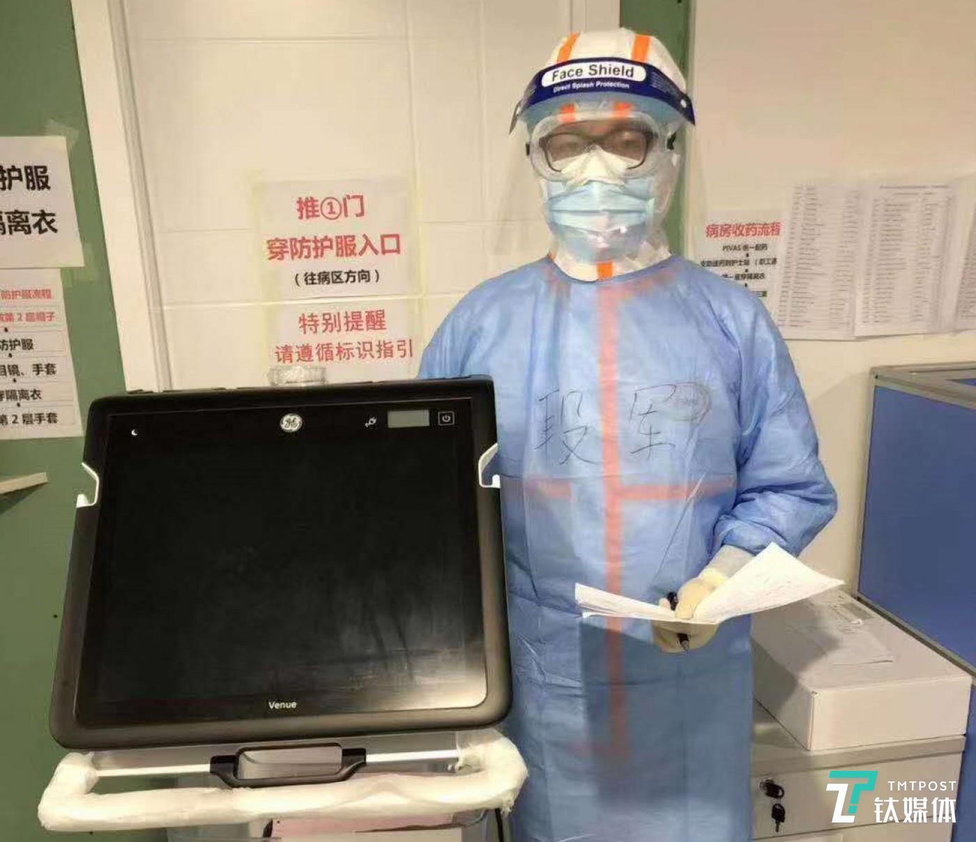受访者之一,中日友好医院外科重症医学科副主任段军