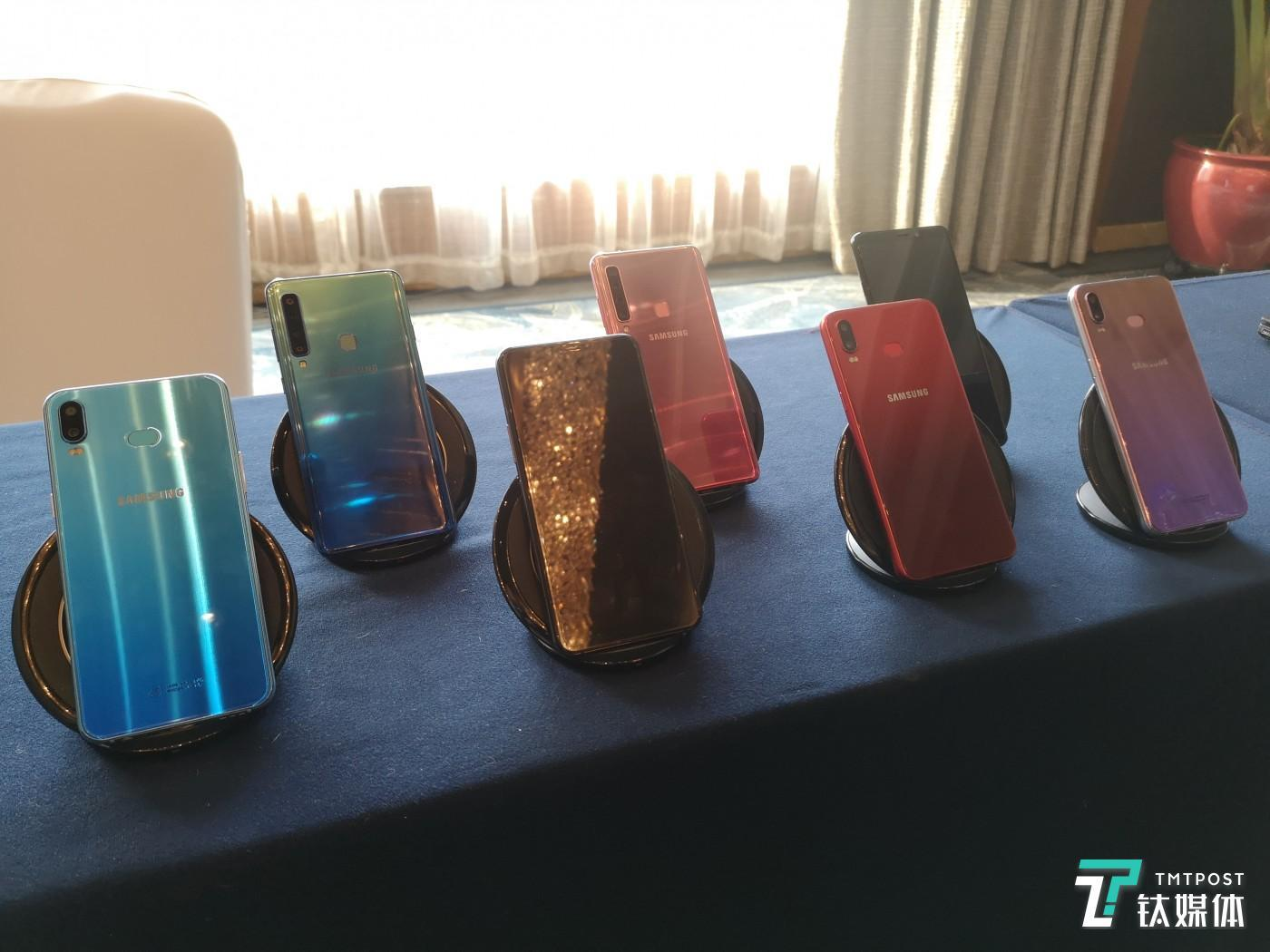 三星A系列智能手机