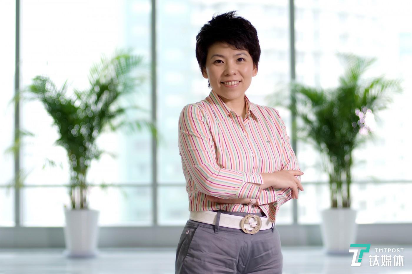 投资人、奥运冠军邓亚萍(图片由嘉宾提供)