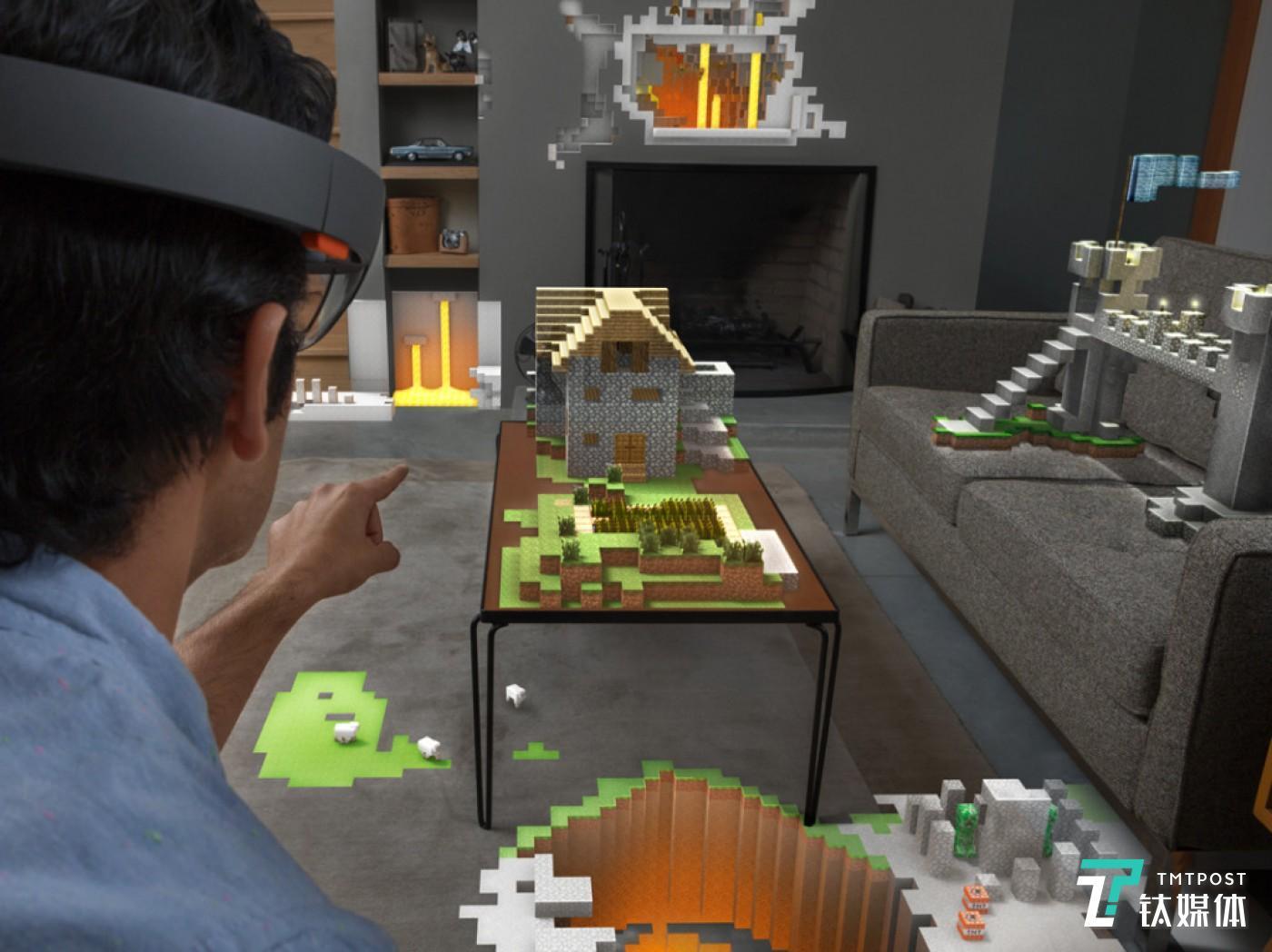 Hololens 为《我的世界》带来新的游戏体验